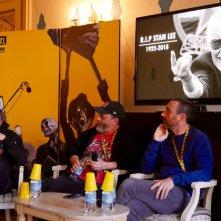 Marco e Antonio Manetti commemorano Stan Lee al Noir in Festival