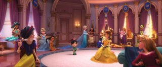 Ralph Spacca Internet: le principessa Disney in una foto del film