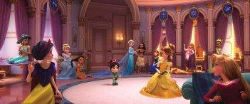 Ralph Spacca Internet: le principessa Disney in una foto del film