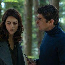 Il testimone invisibile: Riccardo Scamarcio e Miriam Leone in una scena