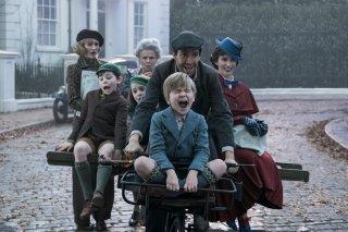 Mary Poppins Returns: una vivace scena corale