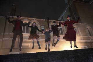 Mary Poppins Returns: un'immagine del film Disney