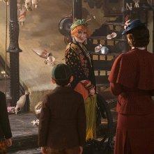 Il Ritorno di Mary Poppins: Meryl Streep in una scena
