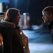 Ben Is Back: Julia Roberts con Lucas Hedges in una scena del film