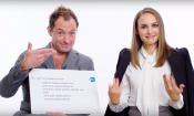 Jude Law e Natalie Portman rispondono alle domande più strane di Google