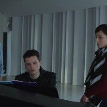Nelle tue mani: Kristin Scott Thomas, Lambert Wilson e Jules Benchetrit in una scena