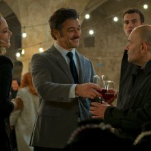 Wine to Love: Ornella Muti, Michele Venitucci e Domenico Fortunato in una scena