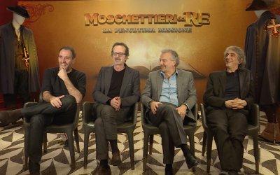 """Moschettieri del re, Mastandrea, Papaleo e Rubini: """"Sul set c'era più odore di porco che di leggenda"""""""