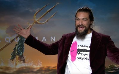 Intervista a Jason Momoa su Aquaman