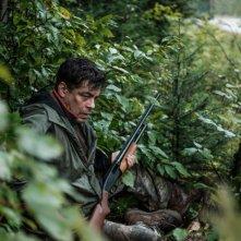 Escape at Dannemora: Benicio Del Toro in una scena del finale