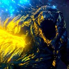 Godzilla Mangiapianeti: uno scontro feroce tra i due mostri giganteschi
