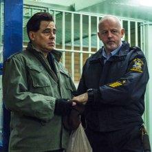 Escape at Dannemora: una foto di Benicio del Toro e David Morse