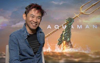 """James Wan è il regista di Aquaman: """"Mi sento figlio di Steven Spielberg, George Lucas e James Cameron"""""""