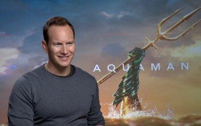 """Aquaman, Patrick Wilson: """"Re Orm comanda con l'ambizione, ma noi dovremmo farlo col cuore"""""""