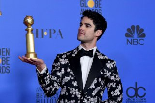 Golden Globes Darren Criss