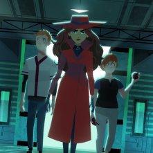 Carmen Sandiego: una scena del reboot