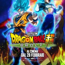 Locandina di Dragon Ball Super: Broly - Il Film