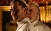 The New Pope: la prima foto con Jude Law e John Malkovich