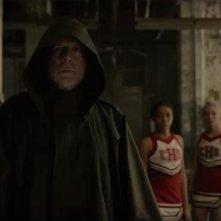 Glass:  Bruce Willis in una scena drammatica del film