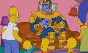 I Simpson incontrano Thanos nella nuova gag del divano
