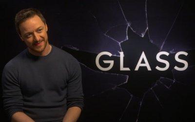 Intervista a James Mcavoy su Glass
