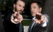 """Robert Downey jr. come Biancaneve: Chris Evans è il suo """"principe azzurro"""""""