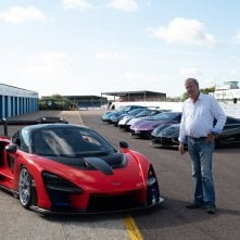 The Grand Tour: Jeremy sta per provare la McClaren Senna