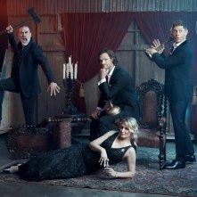 Supernatural: reunion per Jensen Ackles, Jared Padalecki, Jeffrey Dean Morgan e Samantha Smith