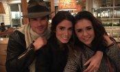 """Nina Dobrev difende la sua amicizia con l'ex Ian Somerhalder: """"Non c'è niente di strano!"""""""