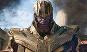 Avengers 4: Endgame, ecco l'armatura di Thanos, il look di Ronin anticipa la sorte della famiglia di Hawkeye?