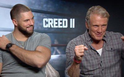 Intervista a Dolph Lundgren e Florian Muntanu su Creed 2