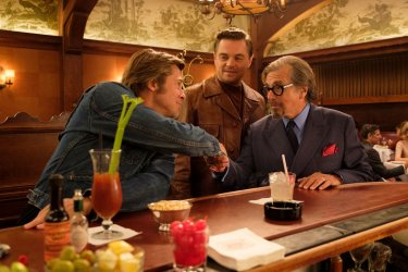 Once Upon A Time In Hollywood Di Caprio Pacino Pitt