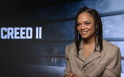 """Creed 2, Tessa Thompson: """"Nel film una delle migliori proposte di matrimonio della storia del cinema!"""""""