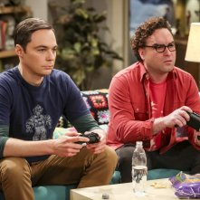 The Big Bang Theory: Jim Parsons e Johnny Galecki nell'episodio The Propagation Proposition