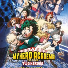 My Hero Academia the Movie: Two Heroes, il poster italiano
