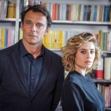 Non Mentire: Alessandro Preziosi e Greta Scarano in un'immagine promozionale
