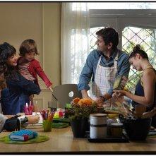 10 Giorni senza Mamma: una scena di gruppo nel film