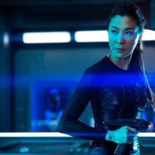 Star Trek Discovery: una scena con Michelle Yeoh nell'episodio Point of Light, stagione 2