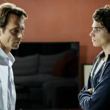 Non Mentire: Alessandro Preziosi durante una scena della fiction di Canale 5