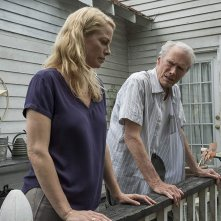 Il corriere - The Mule: Alison Eastwood e Clint Eastwood in una scena