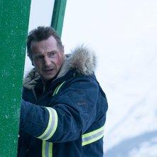 Un uomo tranquillo: Liam Neeson in una sequenza del film