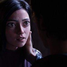 Alita - Angelo della battaglia: un primo piano di Rosa Salazar