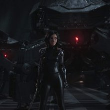 Alita - Angelo della battaglia: Rosa Salazar in una scena del film