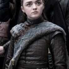 Il Trono di Spade 8: Maisie Williams è Arya in una foto della serie