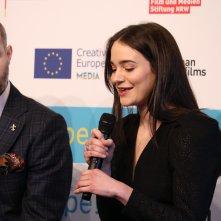 Berlino: Aisling Franciosi alla presentazione dell'European Shooting Stars