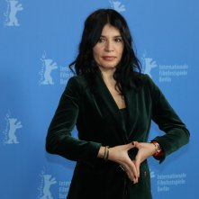 Berlino 2019: Teona Strugar Mitevska al photocall di God Exist, Her Name is Petrunya