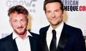 """Oscar 2019: Sean Penn difende Bradley Cooper: """"Hai talento, Hollywood è solo invidiosa di te"""""""