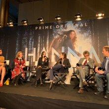 Hanna: il cast della serie durante la conferenza stampa al festival di Berlino