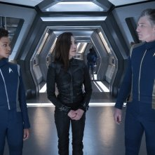 Star Trek Discovery: Michelle Yeoh, Anson Mount, Sonequa Martin-Green in Saints of Imperfection