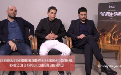 La paranza dei bambini: intervista a Roberto Saviano, Francesco di Napoli e Claudio Giovannesi